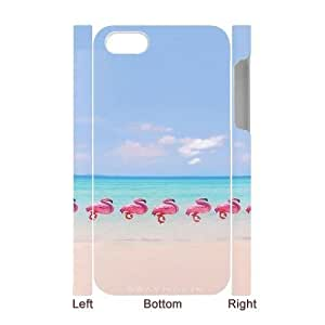 Customised 3D iPhone 4,4G,4S Case, Flamingo quote personalised Phone Case