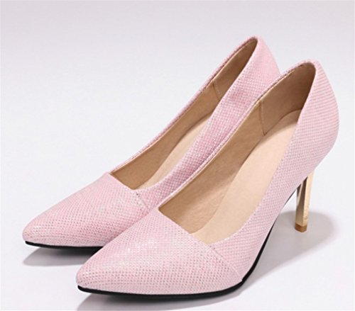 Blink Clover a Lucky Fashion Queen Toe Sandals Party Court Peep Pumps Dancing Alti Shoes Donna Sposa Scarpette a Luxury Shoes Pink Tacchi Principessa Y5qdrq