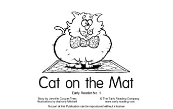 Amazon Book 01 Fantastic Phonics Cat on the Mat