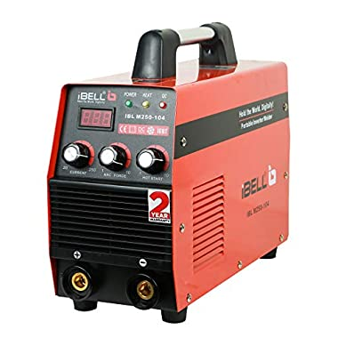 iBELL Heavy Duty Inverter ARC Welding Machine (IGBT) 250A with Hot Start, Anti-Stick Functions, Arc Force Control - 2 Year Warranty 6