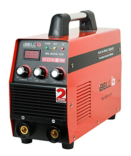 iBELL Heavy Duty Inverter ARC Welding Machine (IGBT) 250A with Hot Start, Anti-Stick Functions, Arc Force Control - 2 Year Warranty 1
