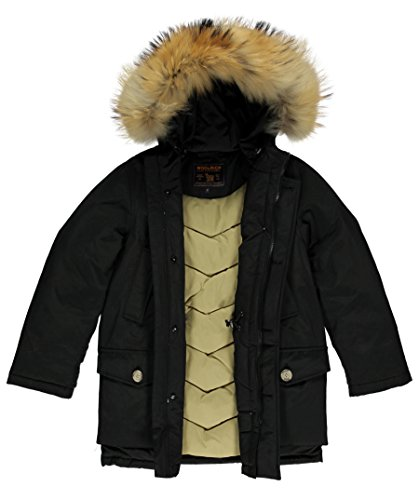 Misto Parka Nero Woolrich Wkcps1992 Cotone In qwaF8xfvE
