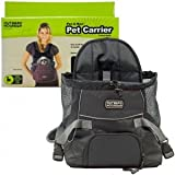 Outward Hound Kyjen OH00588-BK Front Carrier Front Pack For Dogs, Small, Black