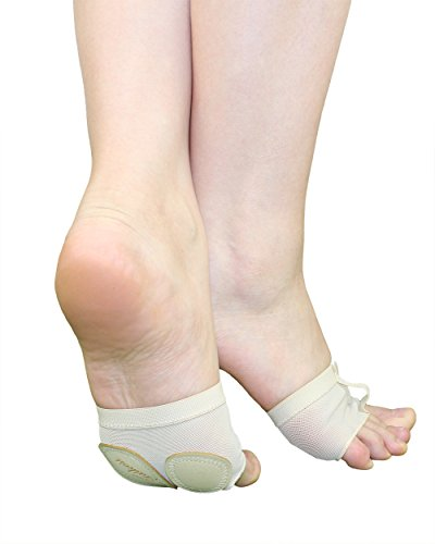 Taikesi Women Lyrical Shoes Foot Thong Dance Paw Half Sole Foot Toe Undies