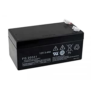 Powery–Batería de plomo (Multipower) MP3,4–12Vds, 12V, Lead-Acid [batería de plomo]
