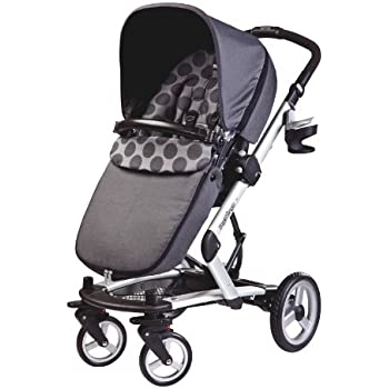 Peg-Perego Skate System, Pois Grey (Discontinued by Manufacturer)