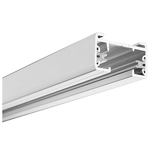 Lithonia Lighting Black Linear Track Lighting Section, , Matte White