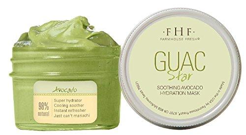 Avocado Face Mask (Farmhouse Fresh Guac Star Avocado Mask, 3.2 Ounce)