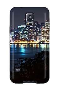 Galaxy S5 UXGCYUc19196aAvwV San Francisco At Night Tpu Silicone Gel Case Cover. Fits Galaxy S5