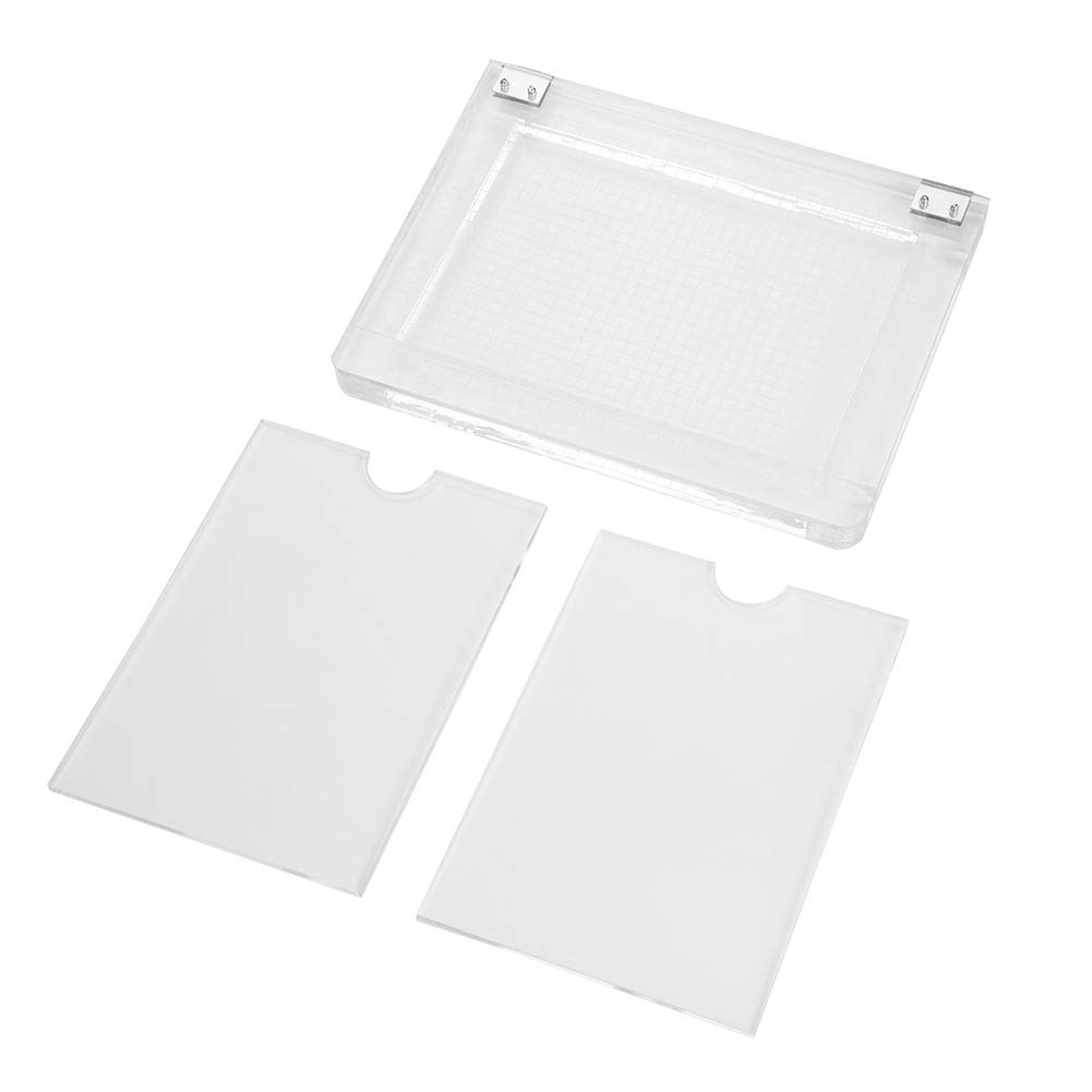 Walfront Notebook Type Rubber Colour Process Device Transparent Acrylic Printing Positioner by Wal front