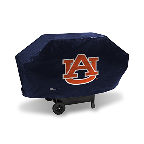NCAA Auburn Tigers Vinyl Padded Deluxe Grill Cover
