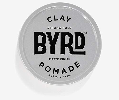 BYRD Hair Clay Pomade Mens Strong Hold/Matte...