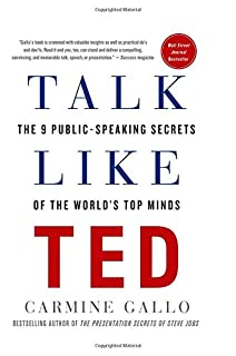 Book Cover: Talk Like TED