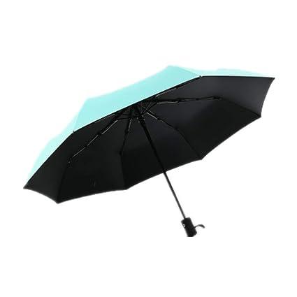 GIRLXV Paraguas Automático Paraguas De Lluvia Paraguas ...