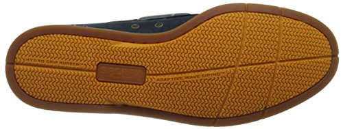 Sperry Top-Sider Mens Captains A/O 2-Eye Boat Shoe Navy