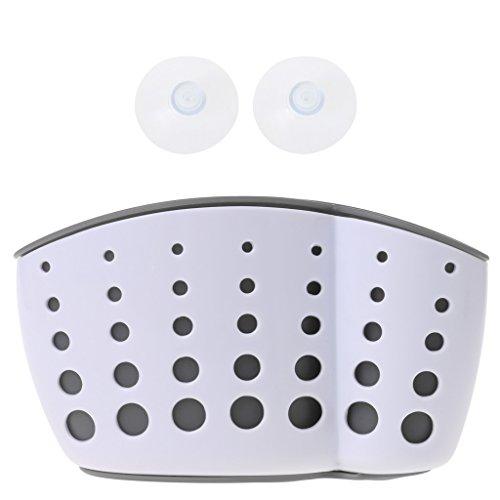 Tebatu Sink Caddy Double Layer Sponge Holders For Bathroom Kitchen Organization Baskets by Tebatu (Image #8)