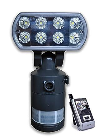 control-one 2 lámparas de pared (con 8 LED) para exteriores (IP44