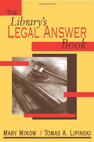 Library's Legal Answer Book by Brand: American Library Association