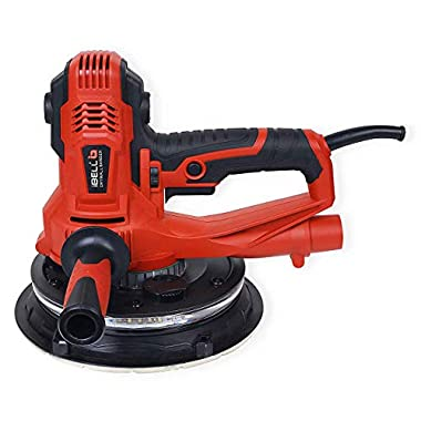 IBELL Dry Wall Sander DS80-90, 180MM, 800W, 1200-2300rpm with Vacuum and LED Light 7