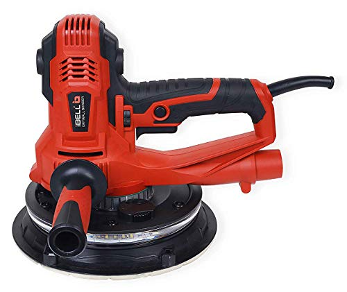 IBELL Dry Wall Sander DS80-90, 180MM, 800W, 1200-2300rpm with Vacuum and LED Light 1