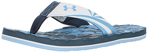 Under Armour Ua M Marathon Key Ii T, Chanclas para Hombre Azul (Blackout Navy 444)