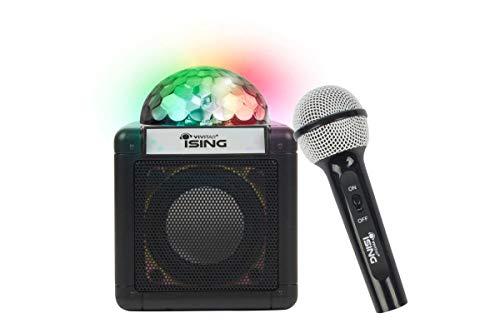 Vivitar iSing Cube Nano Bluetooth Karaoke Speaker (Ising Karaoke Speaker System)