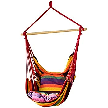 cctro hanging rope hammock chair swing seat large brazilian hammock   chair porch chair for amazon     vivere brazilian hammock chair oasis   garden  u0026 outdoor  rh   amazon