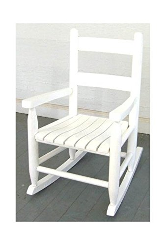 Slat Seat Child Rocker - Unfinished Child Rocking Chair