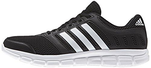 adidas Herren Breeze 101 2 Laufschuhe, Schwarz (Core Black/Ftwr White/Core Black), 47 1/3 EU