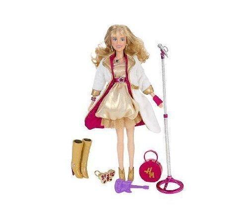 Hannah Montana Holiday 2009 Special Edition 11Singing Pop Star doll gold dress by Disney Hannah Montana Pop