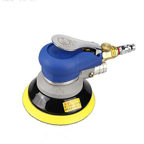 High Strength Pneumatic Grinding Machine, Swinging Eccentric Shaft Design 5 Inch Pneumatic Sandpaper Machine Multifunction and Ergonomic