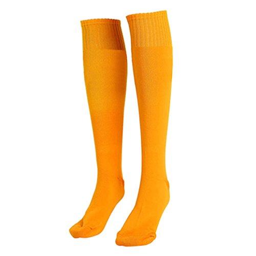 Amazon.com  Catnew Unisex Football Plain Long Sock Sport Knee High Large  Soccer Stocks  Clothing 516d819d3f