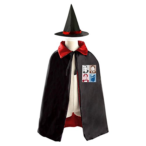 Colorful Lead Handsome Children's Halloween cape Including WizardCap/Witches/Mantle/Cloak+Hat