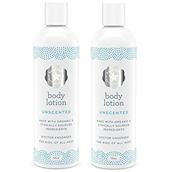 Baja Baby Unscented Lotion – 2 Pack – Fragrance Free Body Lotion with No Sulfates, Parabens Or Phosphates – Gluten Free, Vegan Friendly No Animal Testing Gentle Lotion Safe for Sensitive Skins