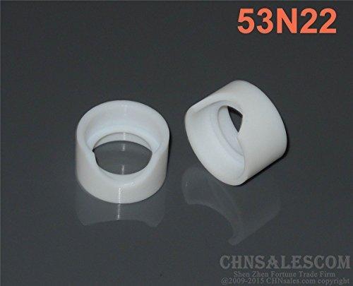 CHNsalescom 2 pcs Insulators Cup Gaskets TIG Welding Torch WP-24 53N22