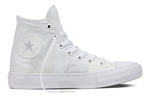 white All Chuck Taylor Star Sneaker – Adulto C155418 Unisex white Ii Collo Alto A Converse Bianco white wpxfZqw