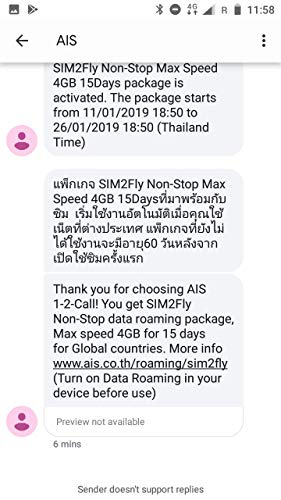 AIS SIM2FLY 4GB / 15 Days Non-Stop Roaming SIM To Use In Europe, Asia,  Middle East, USA, Canada As Well As Russia - Ideal SIM Card For The FIFA  World