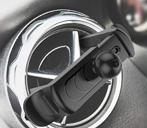 Ball Head 17mm Spring Expanding Stable Vent Clip for Round Type Air Vent Like Mercedes Benz VICSEED Vent Clip for Air Vent Car Phone Mount