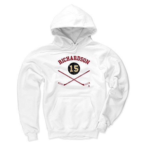 - 500 LEVEL Arizona Coyotes Men's Hoodie - XXX-Large White - Brad Richardson Sticks R