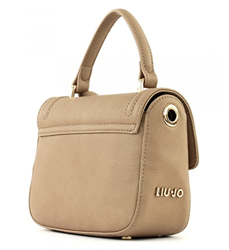 Liu Jo S Cross Body Long Island - Bolsos bandolera Mujer Marrón (Arenaria)