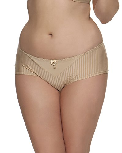 Curvy Kate Women's Luxe Short, Biscotti, XXXX-Large/22