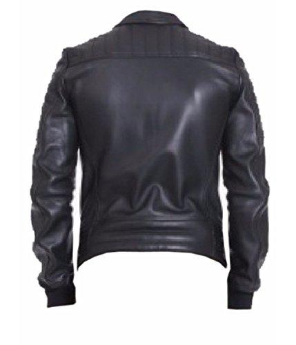 Leatherly Veste Homme Lace Up Veste de Cuir