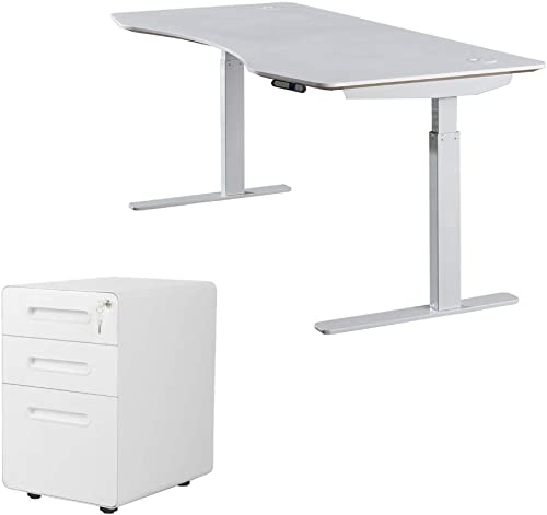 ApexDesk AXB6030-WHT Elite Series Electric Height Adjustable Standing Desk Review