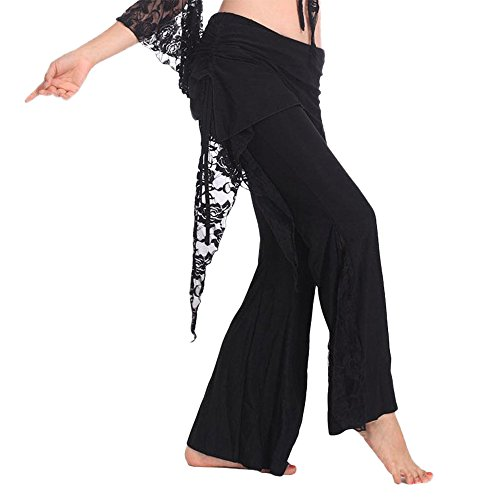 Femminile Yi Da Per Nero Pantaloni Del Danza Tribale Sheng Ventre Na Wu rIwBqWUvrz