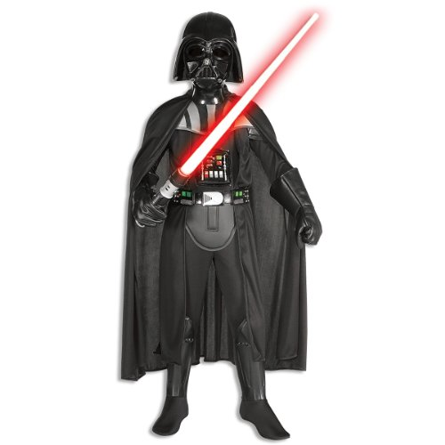 Star Wars Classic Deluxe Darth Vader Child Costume Size: Large (10-12)