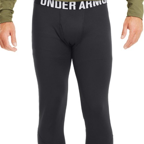 (Under Armour Men's ColdGear Infrared Tactical Fitted, Black /Black,)