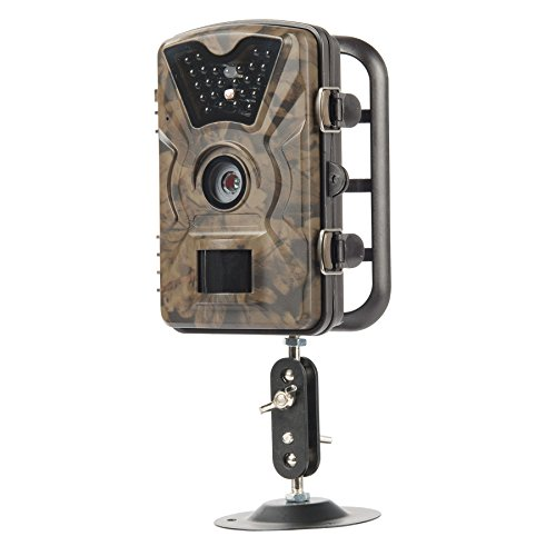 "Hiram Trail Camera 12MP 1080P 2.4"" LCD Hunting & Game Camera with 940nm Upgrading IR LEDs 0.5s Trigger Speed Night Vision up to 65ft/20m IP66 Waterproof & Dustproof Design"