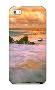 Lmf DIY phone caseNEWStyle Tpu iphone 5c Protective Case Cover/ iphone 5cCase - Beach SLmf DIY phone case