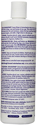 Virbac Epi-Soothe Cream Rinse/Conditioner Itch Relief Cats/Dogs, 16 oz
