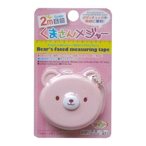 Bear Shaped Measuring Tape